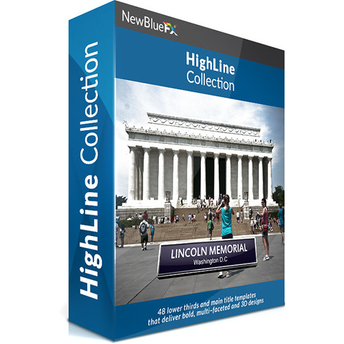NewBlueFX HighLine Title Template Collection (Download)
