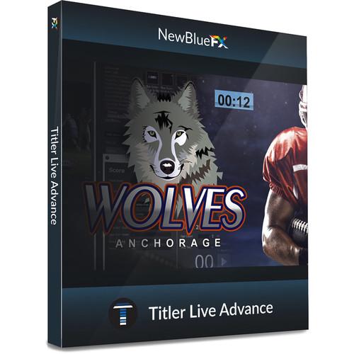 NewBlueFX Titler Live Advance (Download)
