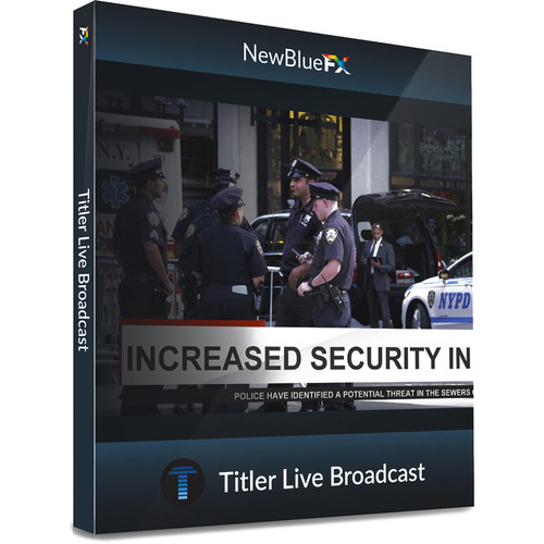 NewBlueFX Titler Live 3 Broadcast (Download)