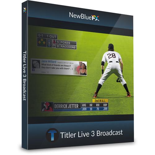 NewBlueFX Titler Live 3 - Broadcast