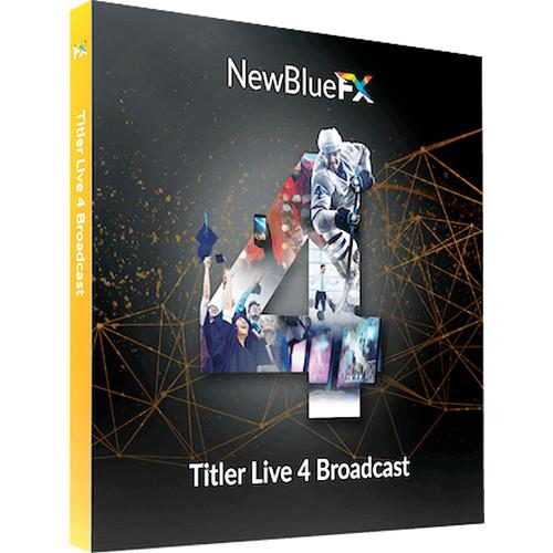 NewBlueFX Titler Live 4 Broadcast (Download)
