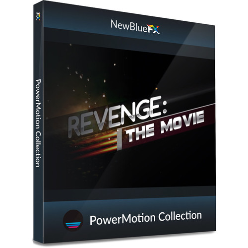 NewBlueFX PowerMotion Title Template Collection (Download)
