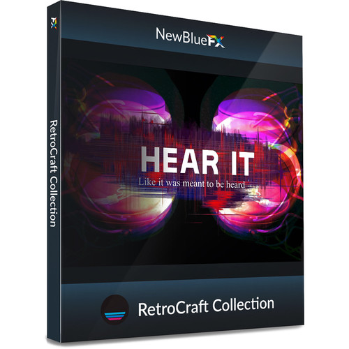 NewBlueFX RetroCraft Title Template Collection (Download)