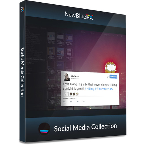 NewBlueFX Social Media Title Collection