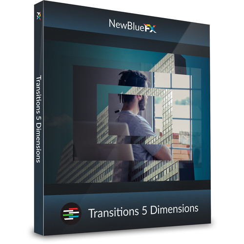 NewBlueFX Transitions 5 Dimensions (Download)