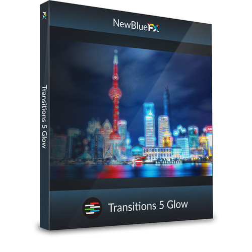 NewBlueFX Transitions 5 Glow (Download)