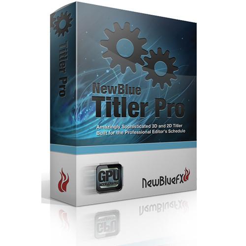 NewBlueFX Titler Pro 2.0