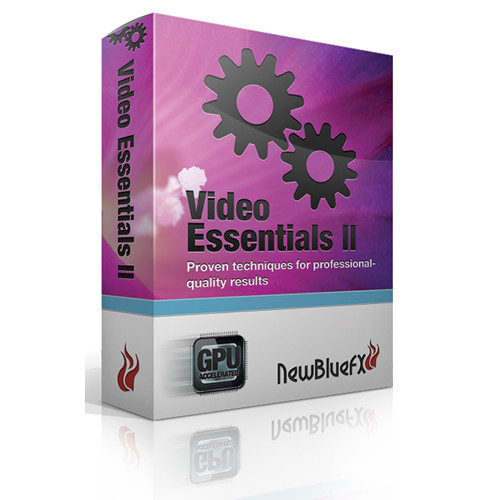 NewBlueFX Video Essentials II