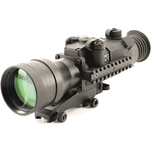 Newcon Optik DN 493 4x67 Autogated 3rd Gen NVD Riflescope (Red Mil Dot Reticle)