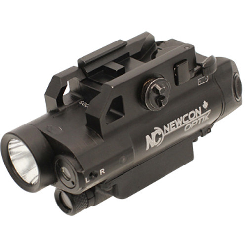 Newcon Optik NCFL 10 Tactical LED Flashlight with 3.0MP Digital Camera (Matte Black)