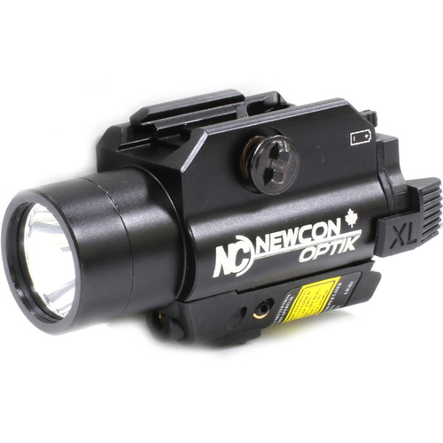 Newcon Optik NCFL 9G LED Illuminator & Laser Aimer (White LED, Green Aiming Laser)