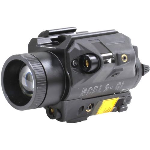 Newcon Optik NCFL 9GI LED Illuminator & Laser Aimer (White LED, Green & IR Aiming Lasers)