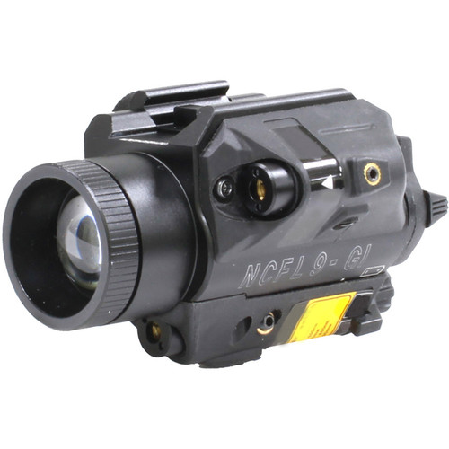 Newcon Optik NCFL 9RI LED Illuminator & Laser Aimer (White LED, Red & IR Aiming Lasers)