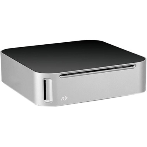 NewerTech miniStack MAX Multi-Interface Storage Solution with Built-in 2 TB Hard Drive, Blu-ray/CD/DVD Read/Write Optical Drive, SD Card Reader, and USB Powered Hub