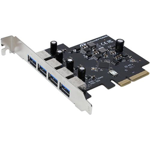 NewerTech MAXpower PCI Express 4-Port USB 3.0 Type-A Controller Card