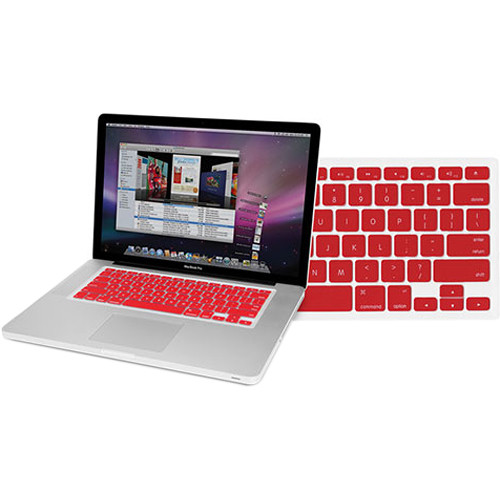 NewerTech NuGuard Keyboard Cover for Select MacBooks (Red)