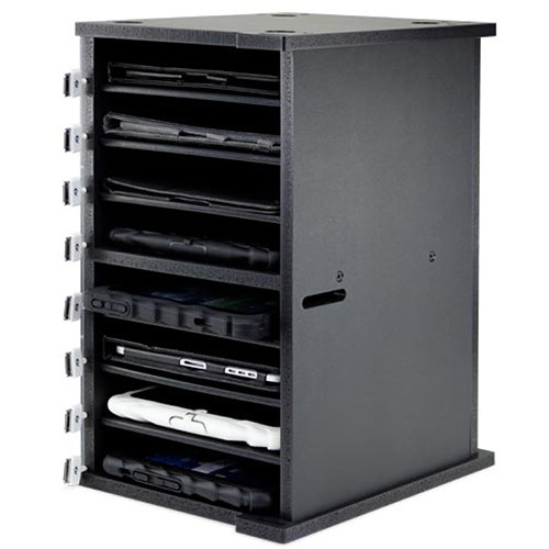 NewerTech NuGuard Universal Tablet Rack for Storing & Charging Up to Eight Devices