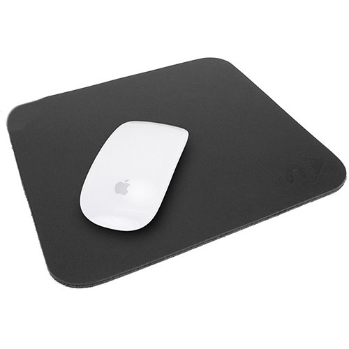 "NewerTech NuPad Leather Mouse Pad (8.25 x 9"", Black)"