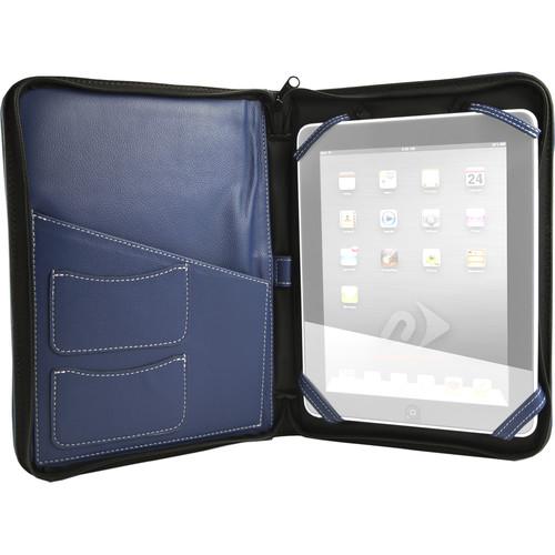 NewerTech iFolio Premium Leather Case-Holder/Folio for iPad 1-4 Gen (Blue)