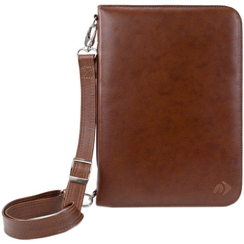 NewerTech iFolio Premium Leather Case-Holder/Folio for iPad 1-4 Gen (Cognac)