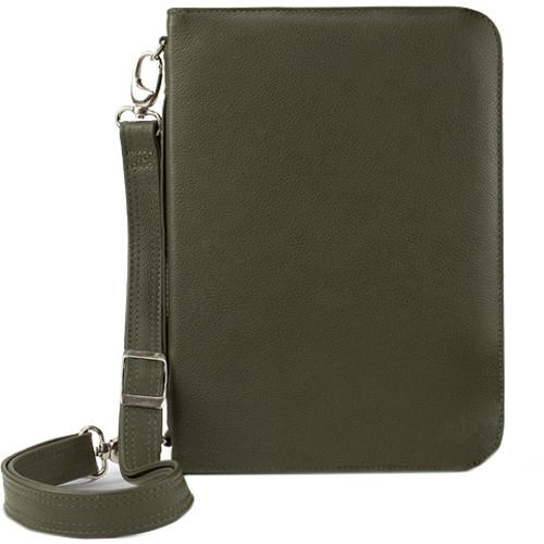 NewerTech iFolio Premium Leather Case-Holder/Folio for iPad 1-4 Gen (Green)