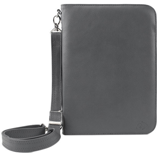 NewerTech iFolio Premium Leather Case-Holder/Folio for iPad 1-4 Gen (Gray)