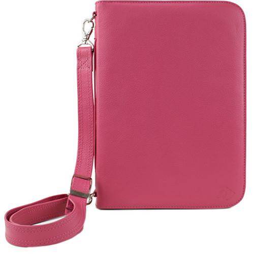 NewerTech iFolio Premium Leather Case-Holder/Folio for iPad 1-4 Gen (Pink)