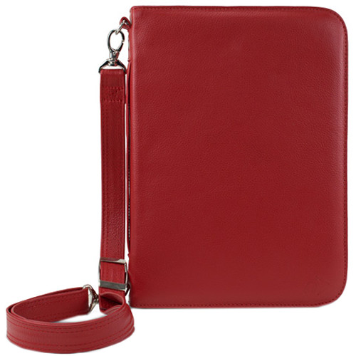 NewerTech iFolio Premium Leather Case-Holder/Folio for iPad 1-4 Gen (Red)
