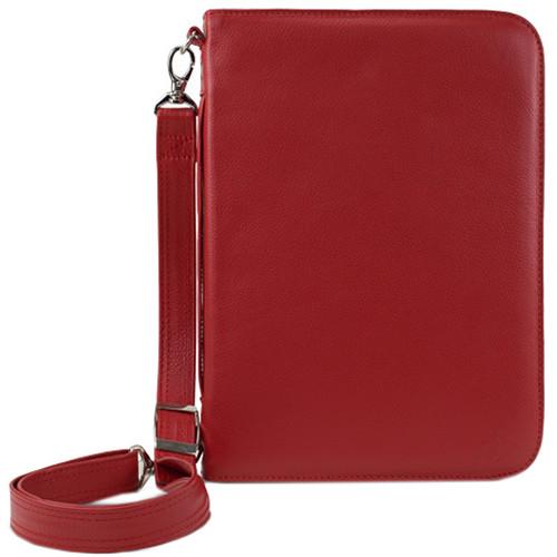NewerTech iFolio Premium Leather Case-Holder/Folio for iPad 1-4 Gen (Red)