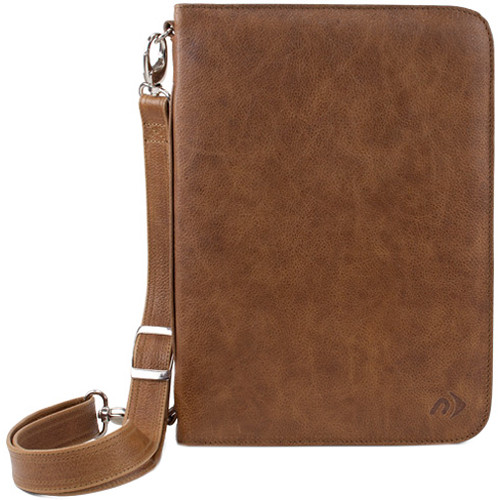 NewerTech iFolio Premium Leather Case-Holder/Folio for iPad 1-4 Gen (Tan)