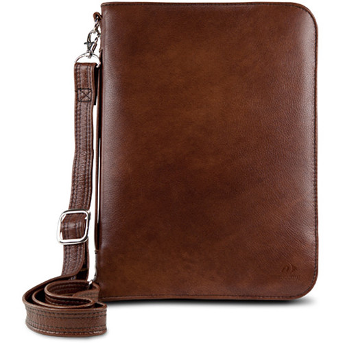 NewerTech Original iFolio Premium Leather Case-Holder/Folio for iPad (Cognac)