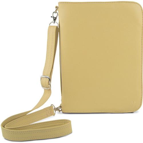 NewerTech Original iFolio Premium Leather Case-Holder/Folio for iPad (Cream)
