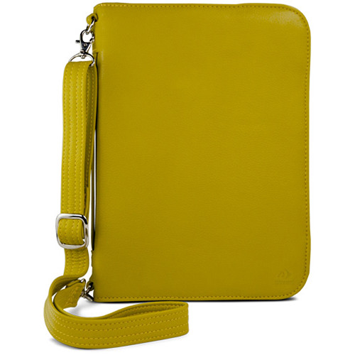 NewerTech Original iFolio Premium Leather Case-Holder/Folio for iPad (Light Green)
