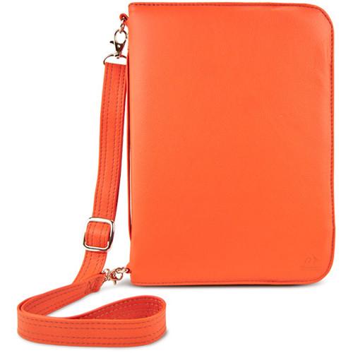 NewerTech Original iFolio Premium Leather Case-Holder/Folio for iPad (Orange)