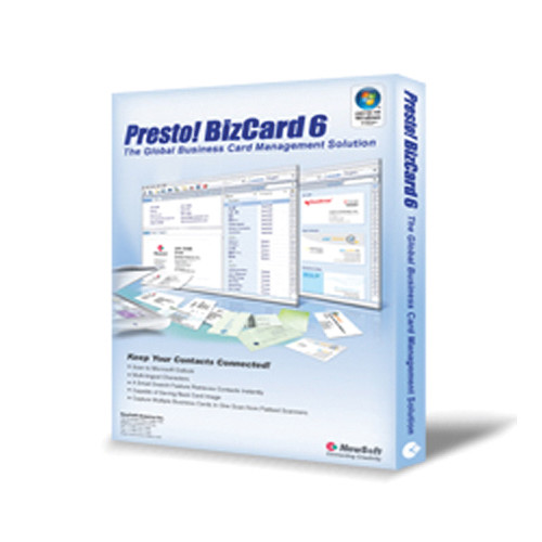 NewSoft Technology Presto! BizCard 6 Software (Windows)