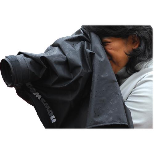 Newswear Short Lens Rain Poncho for Nikon