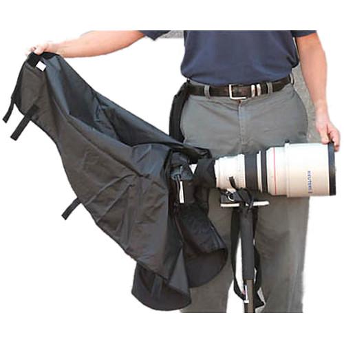 Newswear Long Lens Rain Poncho for Canon (Safari Sand)