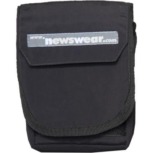 Newswear Small Aqua Pouch (Black)