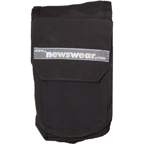 Newswear Strobe Aqua Pouch (Black)