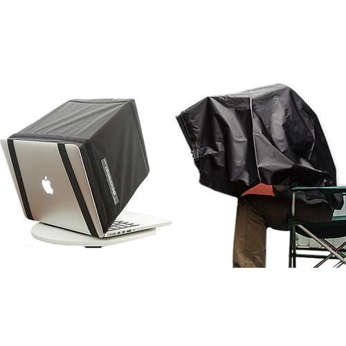 "Newswear Darkroom 13"" Laptop Shade & Cape"
