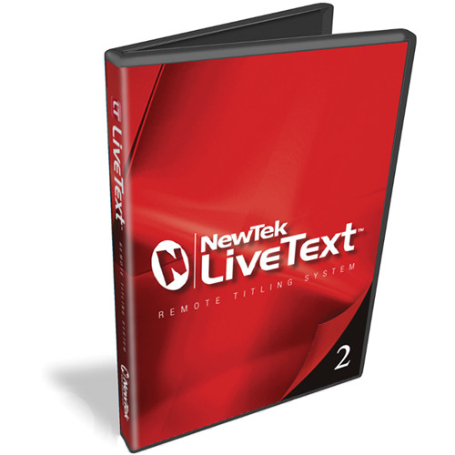 NewTek LiveText 2.5 with DataLink 3 (Educational License)