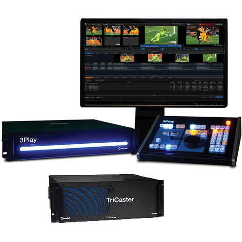 NewTek Live Sports 860 Solution: TriCaster 860 & 3Play 440
