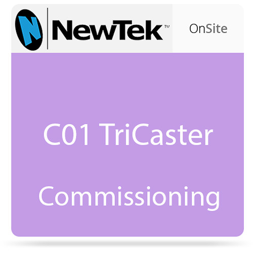 NewTek C01 TriCaster Commissioning
