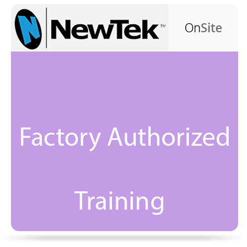 NewTek On-Site Additional Training, 4-Hours Non-taxable
