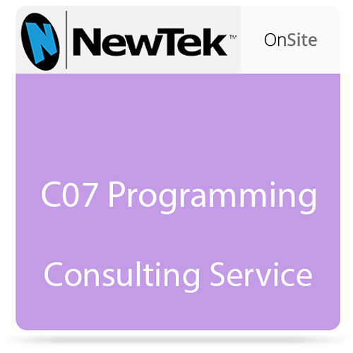 NewTek C07 Programming Consulting Service