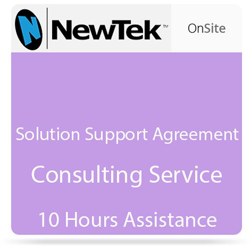 NewTek Solution Support Agreement Consulting Service (10 Hours Assistance)