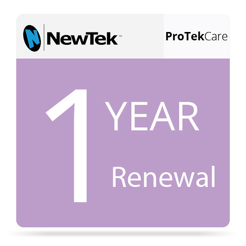 NewTek ProTek Care 1-Year Renewal for TriCaster 860