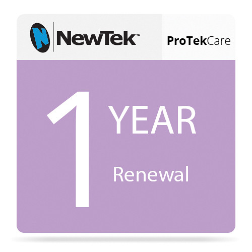 NewTek ProTek Care 1-Year Renewal for 3Play 4800
