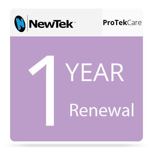 NewTek ProTek Care 1-Year Renewal for 3Play 440