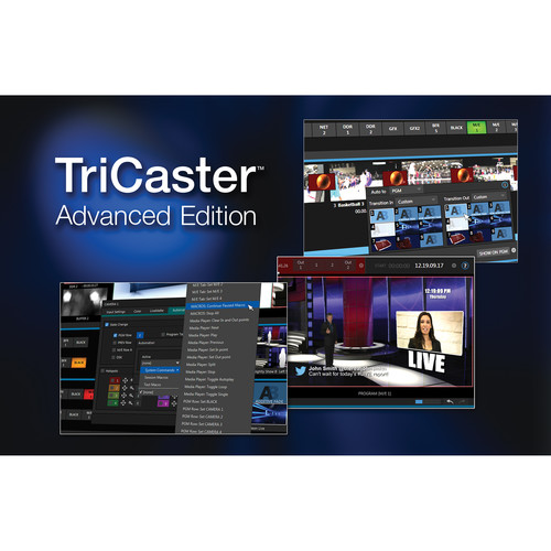 NewTek TriCaster Advanced Edition Software for TriCaster 460 Switchers
